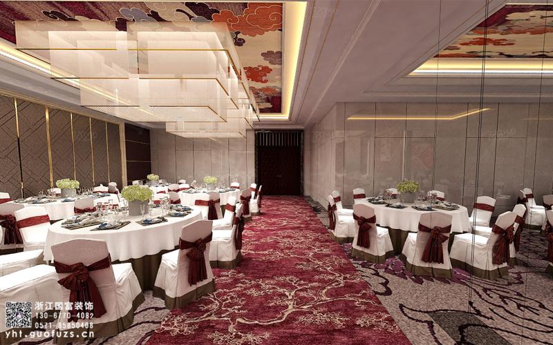 杭州婚宴宴会厅装修